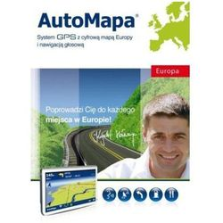 Oprogramowanie GPS APN PROMISE AutoMapa Europa
