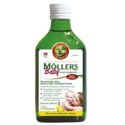 Mollers baby tran norweski cytrynowy 250 ml