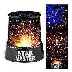 Str Master Lampka nocna projektor gwiazd
