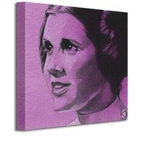 Star Wars Princess Leia Sketch - Obraz na płótnie