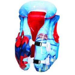 Bestway, Spider-Man, dmuchana kamizelka do nauki pływania, 51x46 cm Darmowa dostawa do sklepów SMYK