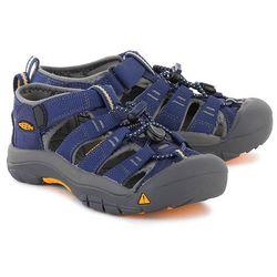 KEEN Newport H2 - Granatowe Poliestrowe Sandały Dziecięce - 1009962