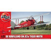 Airfix, Model do sklejania, De Havilland DH.82a Tiger Moth, 1:72 Darmowa dostawa do sklepów SMYK