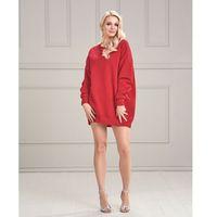 605746b791 Sukienka Genua w kolorze czerwonym - porównaj zanim kupisz