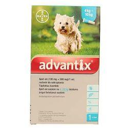 Bayer advantix Spot-on 1 ml (4 - 10 kg) - różne warianty Wariant:Wariant 1