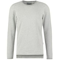Jack & Jones JCOLAKE REGULAR FIT Sweter light grey melange
