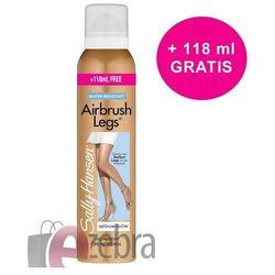 Sally Hansen Airbrush legs- Fluid do nóg, rajstopy w sprayu Medium Glow DUŻA POJEMNOŚĆ 193.8ml