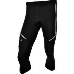 Męskie 3/4 spodnie rowerowe lacl Silvini Salia MP459 black