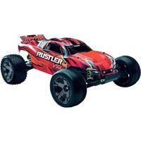 Samochód terenowy RC EP Truggy Rustler VXL RtR Traxxas, skala 1:10