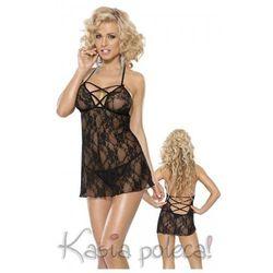 Roxana Mini Dress & String Model: 6565 Black M Sukienka i stringi czarne M