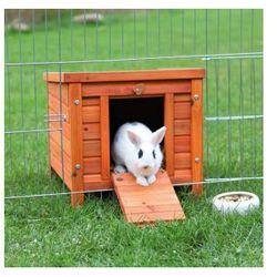 Domek Natura dla małych zwierząt Rozmiar:42 × 43 × 51 cm