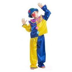 Strój Klaun żółty - przebrania / kostiumy dla dzieci, odgrywanie ról - 110 cm