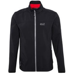 Jack Wolfskin ELEMENT Kurtka Softshell black