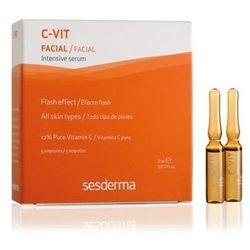 SesDerma - C-Vit Intensive Serum 12% - Intensywne serum nawilżające do skóry suchej - 5 amp x 2 ml