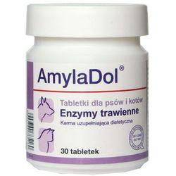DOLFOS Amyladol - enzymy trawienne dla psów i kotów 30tab.