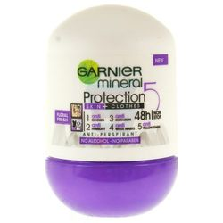 Dezodorant Garnier Mineral Protection 5 Floral Fresh Antyperspirant w kulce 50 ml