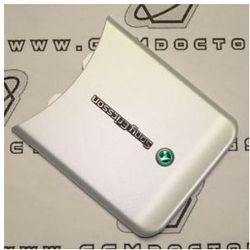 Obudowa Sony Ericsson W580i klapka / pokrywa baterii srebrna