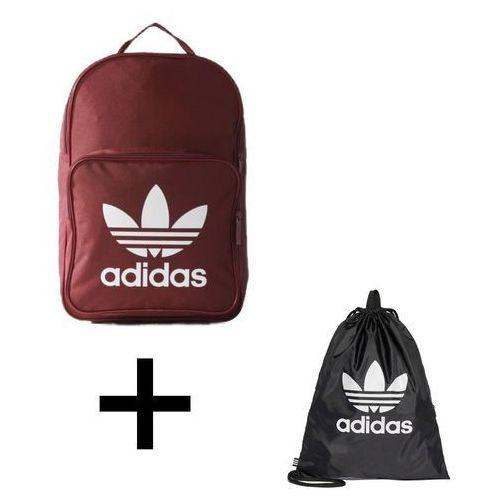 e44a1080dcd1e Zestaw Plecak Adidas Originals BP Clas Trefoil - BP7303 + Worek Torba Adidas  Originals Trefoil Gym sack - BK6726 - Adidas Originals BP Clas Trefoil