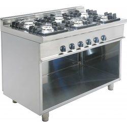 Kuchnia gazowa | 6 palników | 1200x700x850mm
