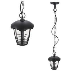 Zewnętrzna LAMPA wisząca MARSELLIE 8620 Rabalux ogrodowy ZWIS metalowy na taras IP44 outdoor czarny