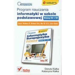 Program nauczania informatyki w szkole podstawowej klasy IV-VI (opr. miękka)
