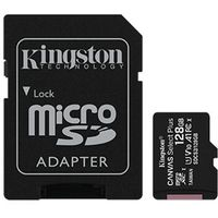 Kingston Canvas Select Plus UHS-I 128 GB MicroSDXC Flash memory class 10 SD Adapter