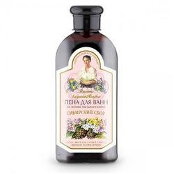 BANIA AGAFII Ziołowy płyn do kąpieli z mydlnicą lekarską - zestaw syberyjski – pielęgnuje skórę, zawiera zestaw syberyjskich ziół o działaniu przeciw przeziębieniowym 500ml