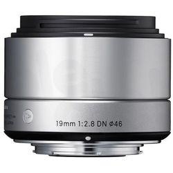 Sigma 19 mm f/2,8 DN A (srebrny) Sony E