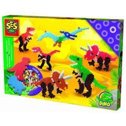 SES Creative, Koraliki do prasowanek - Dinozaury Darmowa dostawa do sklepów SMYK
