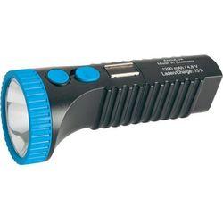 Latarka LED AccuLux PowerLux 422083, 3 W, 6 h, Aku. 4,8 V,1,2 Ah, Czarno-niebieski