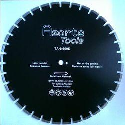 Asorte Tools_Tarcza diamentowa fi 600 mm do asfaltu i świeżego betonu spawana laserem !!