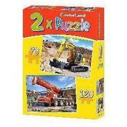 Puzzle x 2 - Maszyny budowlane CASTOR