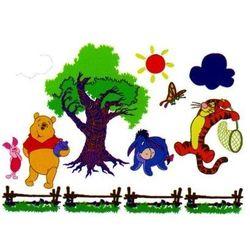 Disney, Kubuś Puchatek i motylek, dekoracja ścienna Darmowa dostawa do sklepów SMYK