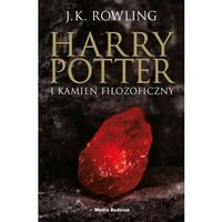 Harry Potter 1 i Kamień Filozoficzny (nowa okładka) (opr. miękka)