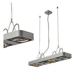 LAMPA wisząca AIXLIGHT R2 LONG 111 159084 Spotline aluminiowa OPRAWA LISTWA srebrnoszary