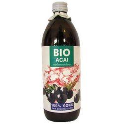 BIO Sok z Jagód Acai 100% Soku 500ml - BioAvena - EKO
