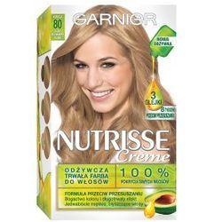 GARNIER Nutrisse Creme - farba do włosów 80 Jasny Naturalny Blond