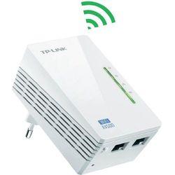 Adapter Ethernet do sieci energetycznej, powerline, WLAN TP-LINK TL-WPA4220, 500 Mbit/s, Prędkość transmisji LAN:100 Mbit/s, Interfejs: LAN:2 x