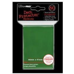 Koszulki (protektory) ultra pro zielone II 50s