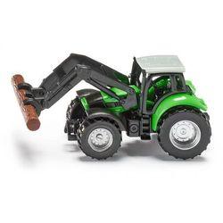 SIKU Traktor ze szczypcami do drewna