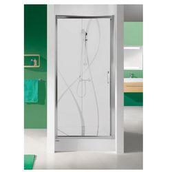 SANPLAST drzwi Tx 5 110 przesuwne, szkło W15 D2/TX5b-110 600-271-1130-38-231