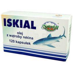 Iskial Olej z wątroby rekina 250mg 120sztuk