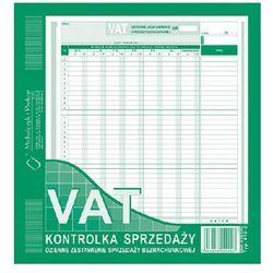 Kontrolka sprzedaży dzienne zestawienie sprzedaży bezrachunkowej VAT 2/3 A4