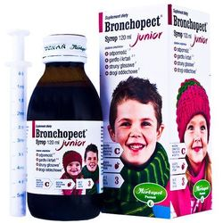 Bronchopect Junior syrop 120ml(kartonik)