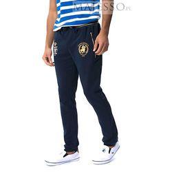 Granatowe spodnie dresowe męskie SMPC Ambrose