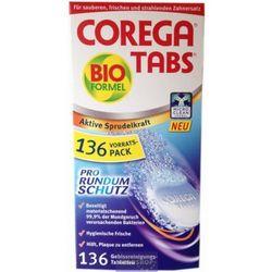Corega Tabs tabletki do czyszczenia protez 136 szt