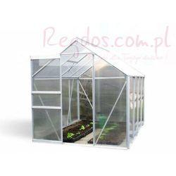 Szklarnia ogrodowa aluminiowa poliwęglanowa 4,75mkw