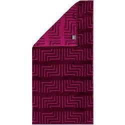 Cawö Frottier ręcznik Decor fuksja, 30 x 50 cm