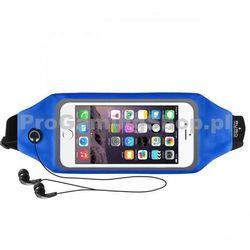 Sportowe Etui na opasek PURO z oknem do Nokia Lumia 730, Nokia Lumia 735, Blue