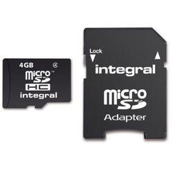 Karta MicroSD Integral Class 4 4GB INMSDH4G4V2 Darmowy odbiór w 19 miastach!